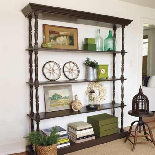 DIY Open Shelving Unit Bedroom Furniture
