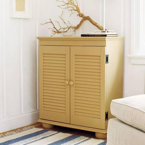 DIY Shutter Door Bedroom Cabinet Furniture