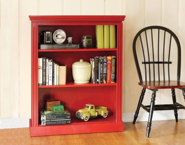 DIY Small Bookcase Bedroom Furniture