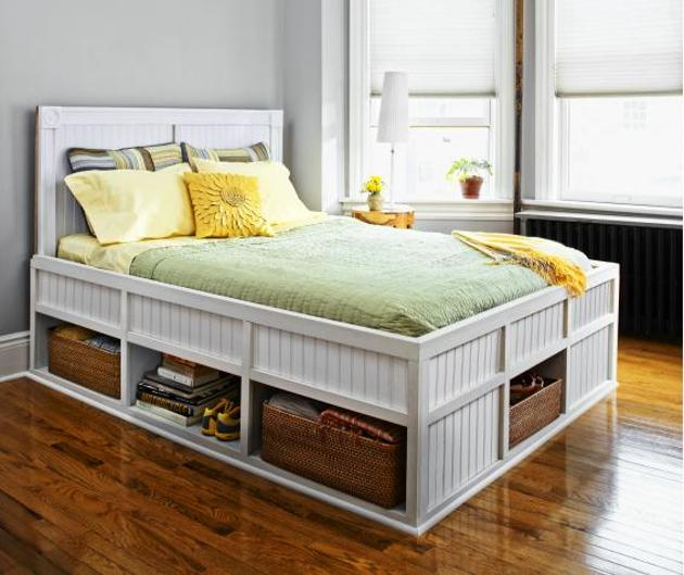 DIY Storage Bed Furniture