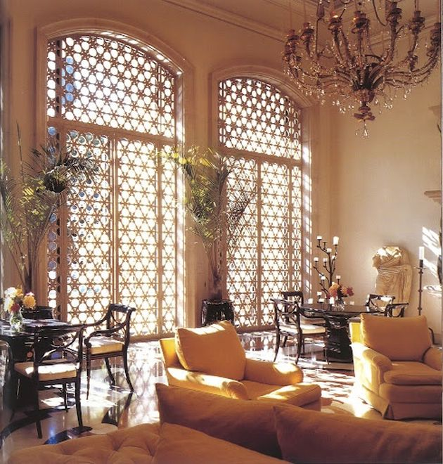 Moroccan Inspired Living Room Designs