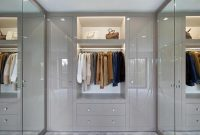 Wardrobe Design With Glass Work