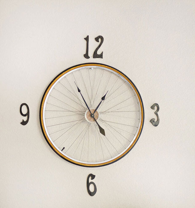 classic diy kitchen wall clock