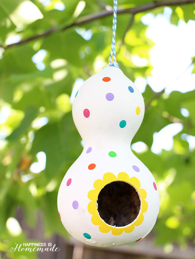 creative diy birdhouse idea