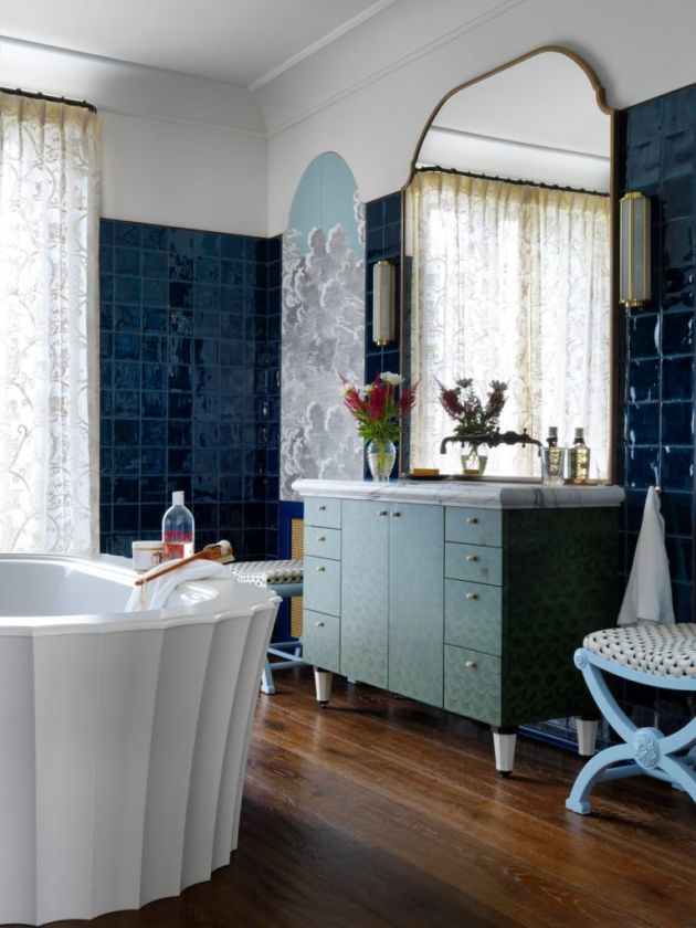 Eclectic Bathroom Idea From 1stDibs