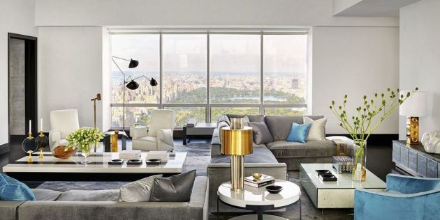 Living Room Idea With Sectional Sofas By Avenue Road