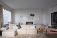 Luxury Living Room Design Ideas with Neutral Color Palette by Kelly Behun