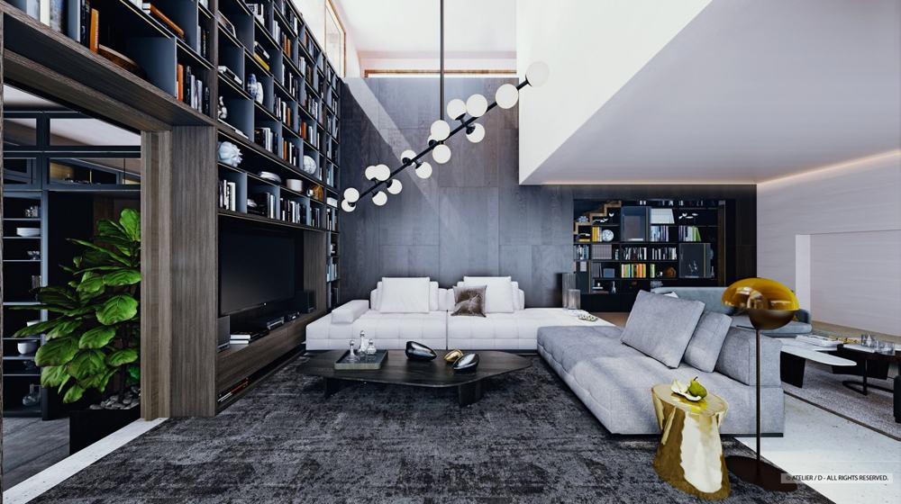 Luxury Living Room Interior Design Ideas By Atelier D