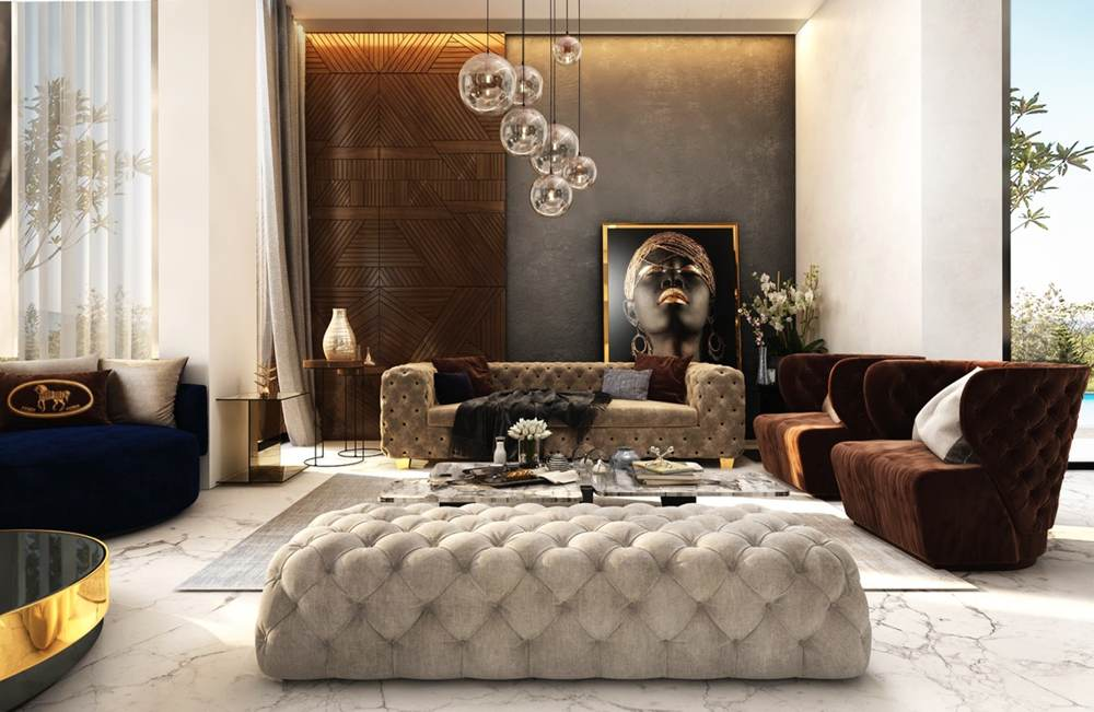 Luxury Living Room Interior Design Ideas By Fathy Ibrahim and Rehab Elhawary