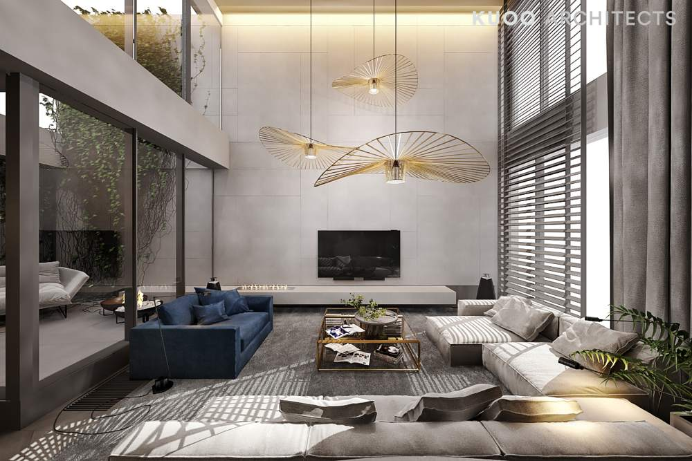 Luxury Living Room Interior Design Ideas From KUOO Architects