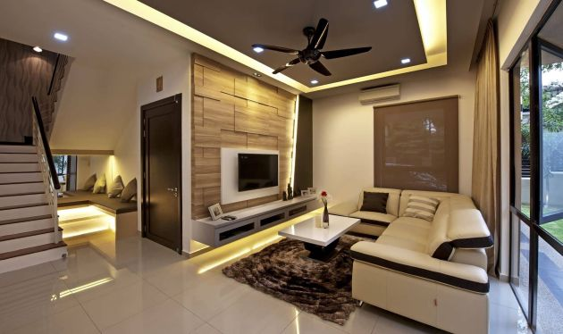 Simple Living Room Design with Amazing Furniture