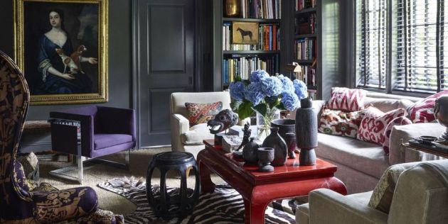 Very Small Living Room Idea With Sofa By Restoration Hardware