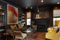black living room design ideas