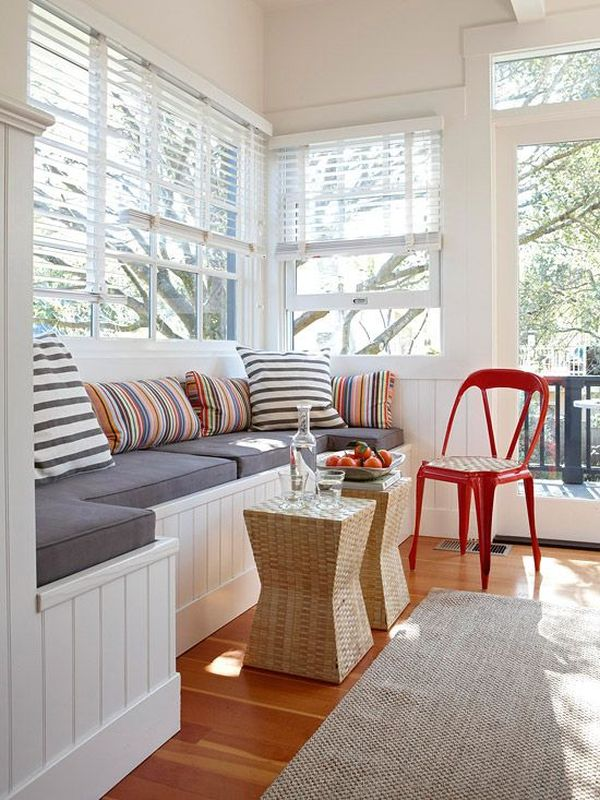 Small Sunroom Living Room