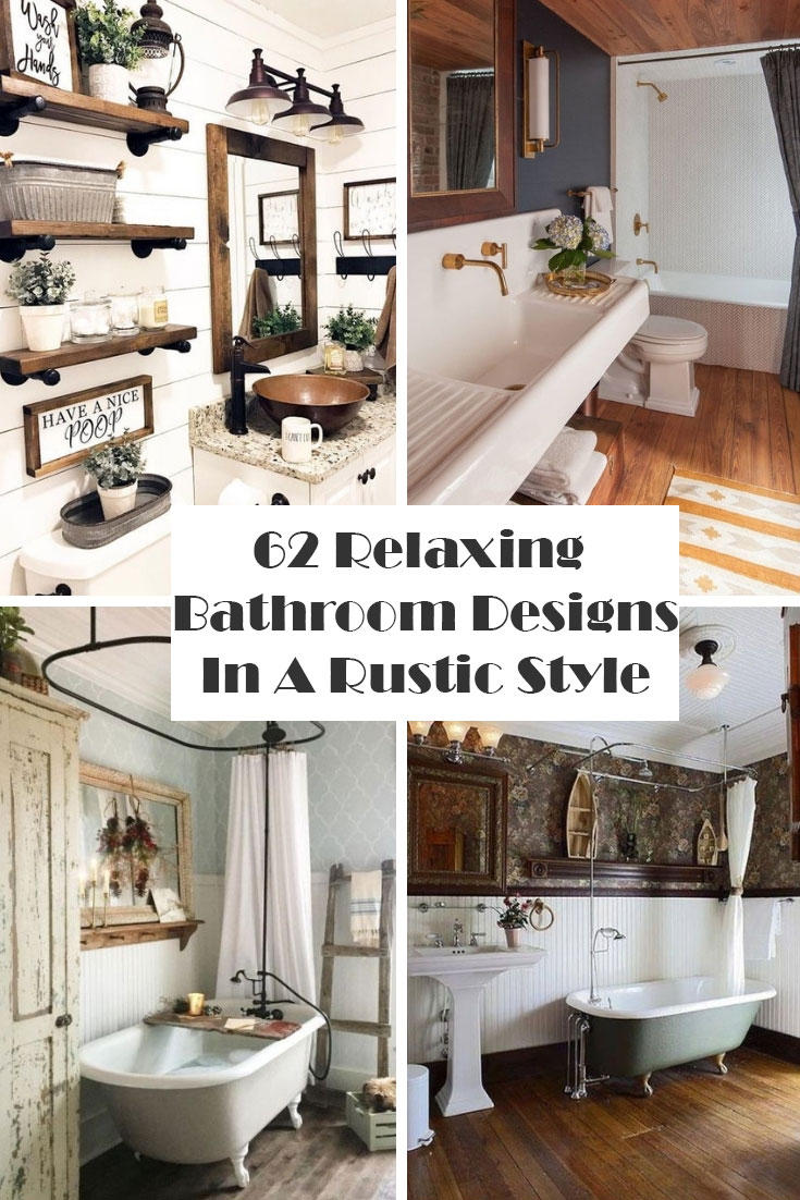 Bathroom Designs In A Rustic Style