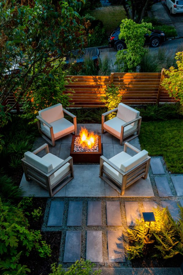 Contemporary Garden Design Ideas By SCJ Studio Landscape Architecture