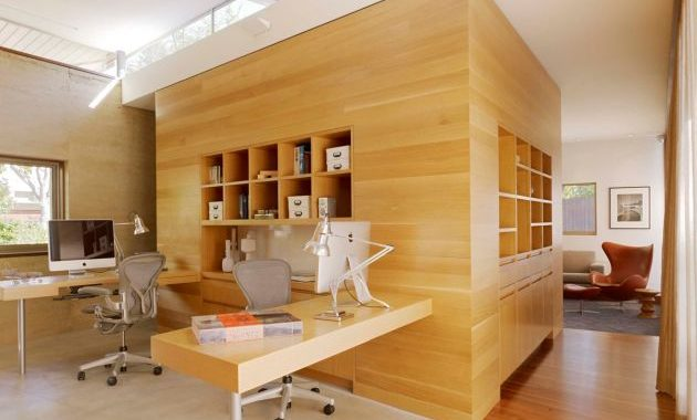 Home Office Design Ideas For Two Persons With Unique Chairs