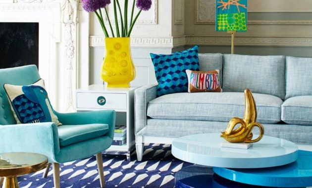 Living Room Design By Jonathan Adler