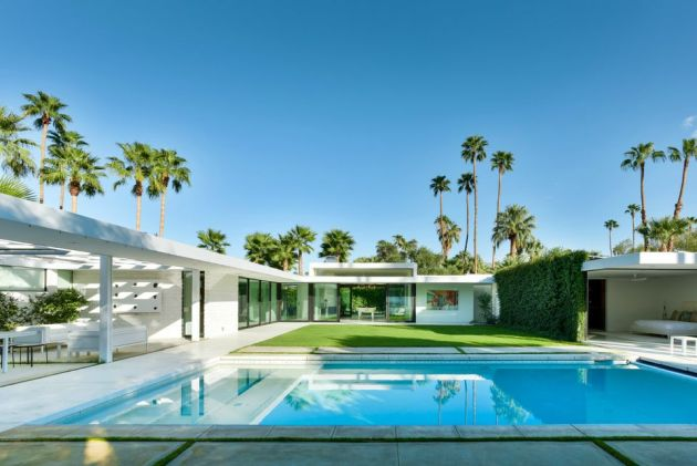 Midcentury Modern Swimming Pool Design