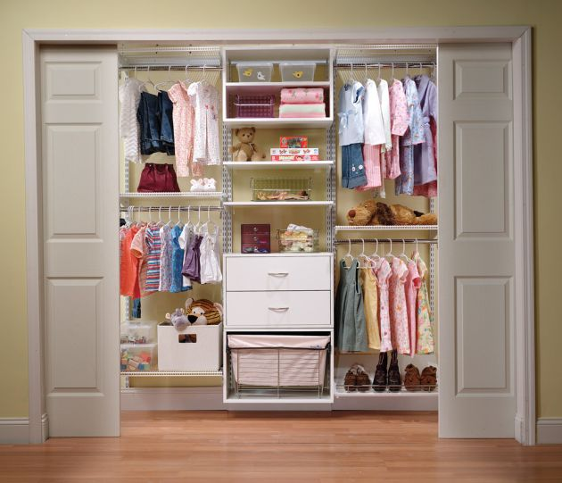 Organized Kid's Traditional Closet System by Organized Living