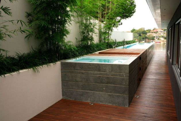 Raised Swimming Pool Design Idea