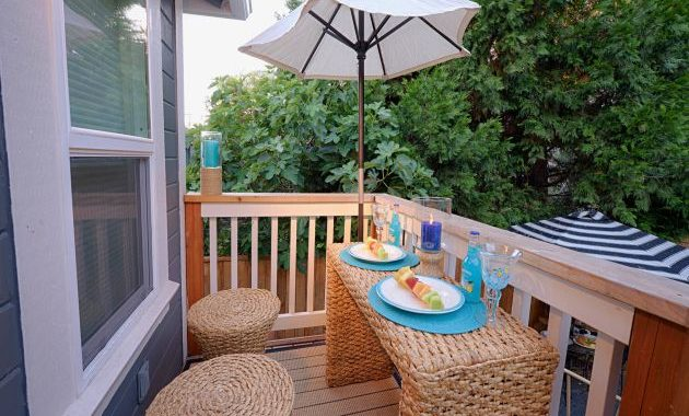 Small Balcony Design Ideas By Paradise Restored Landscaping & Exterior Design