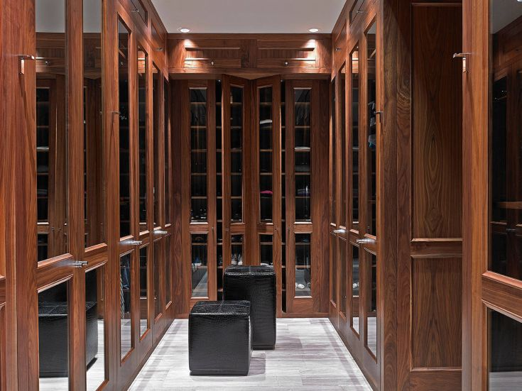 Traditional Closet Design By Jorge L. Hernandez Architect