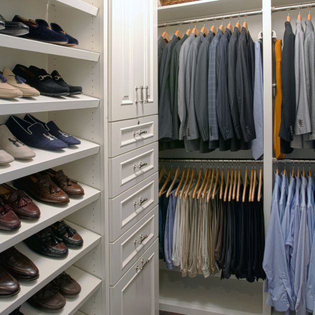 Traditional Closet Design By Kathleen Jacobson