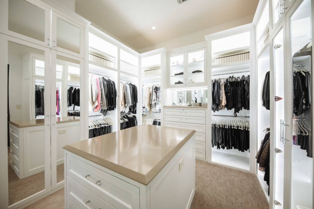Traditional Closet Design From Kathleen Jacobson