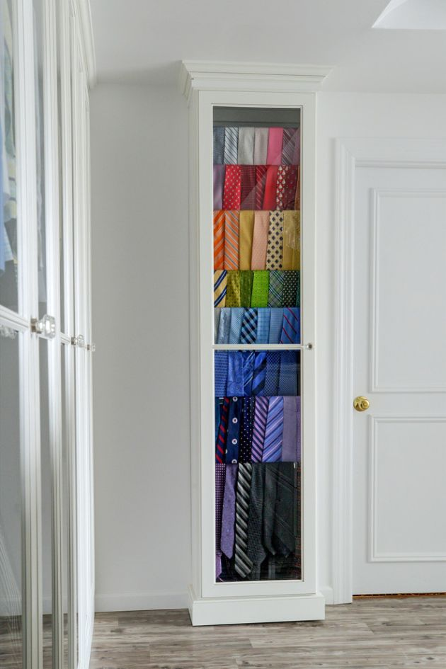 Traditional Closet Design of 3rd Floor Dressing Room for Formal Clothing By Sophisticated Storage Solutions Custom Closets