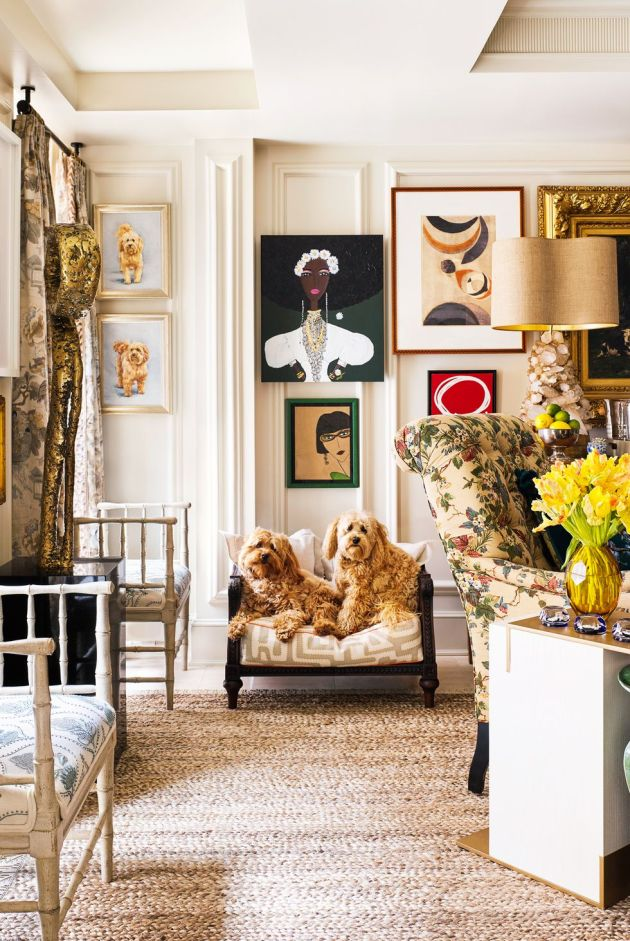Living Room Decorating Ideas By Going All Out With A Gallery Wall