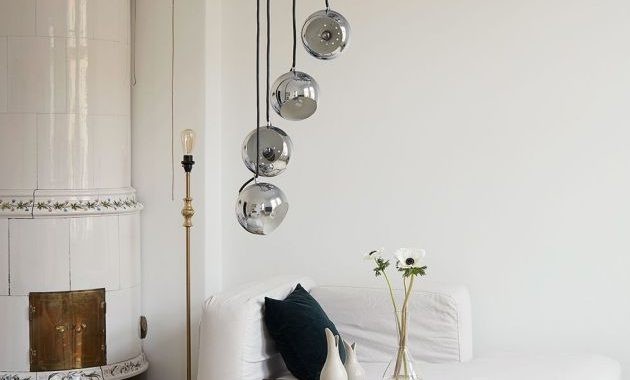 Living Room Decorating Ideas By Installing Statement Lighting