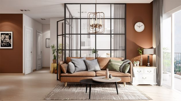 Living Room Decorating Ideas With Brown Sofas From Thao Nguyen