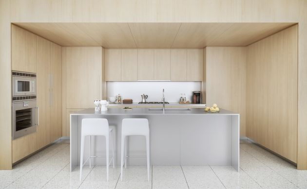Modern Kitchen Island From 3D World Renderings