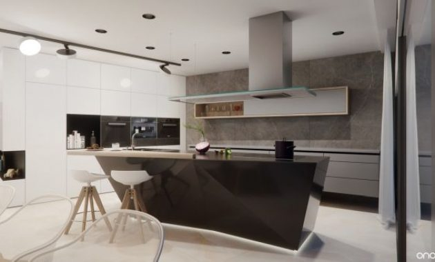 Modern Kitchen Island With Kitchen Sink