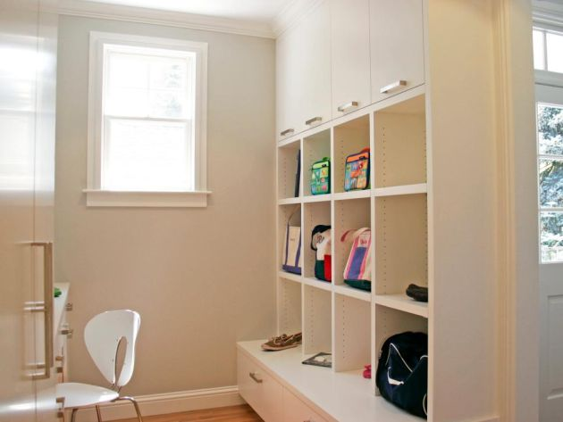 Mudroom And Home Office