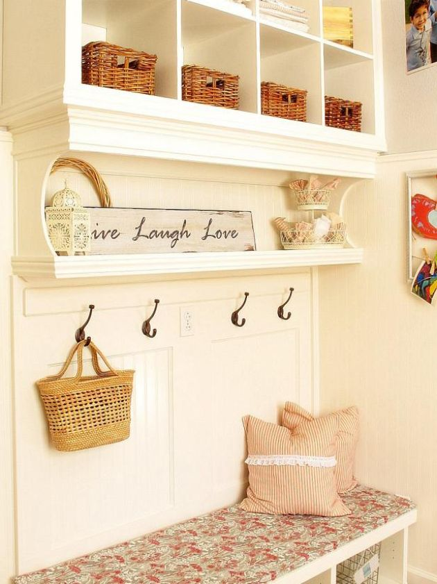 Mudroom Mixed With Personal Style