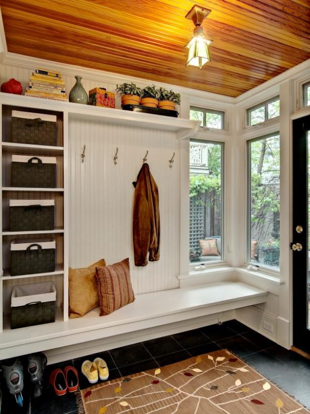 Mudroom With Much Storage