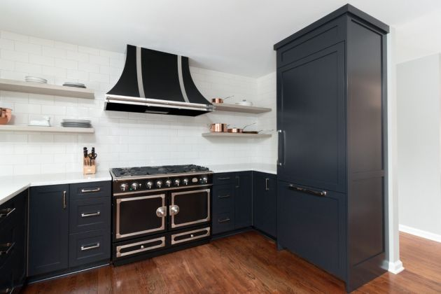 Small Black Kitchen Ideas By Sharer Design Group LLC