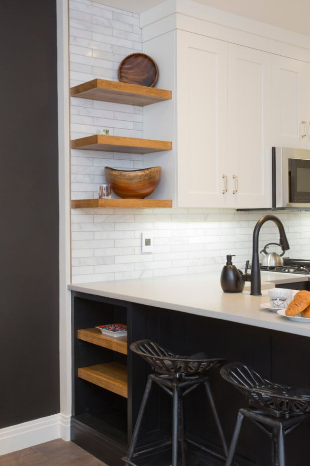 Small Black Kitchen Ideas From Aggie dba Aggie Designs