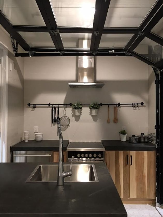 Small Black Kitchen Ideas From Bearded Bros