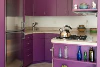 Small Purple Kitchen Design Ideas