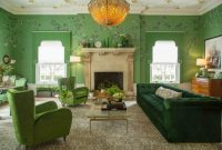 Traditional Green Living Room Design Ideas By Margot Hartford Photography