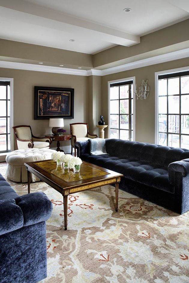 Traditional Living Room Ideas By Empire City Construction