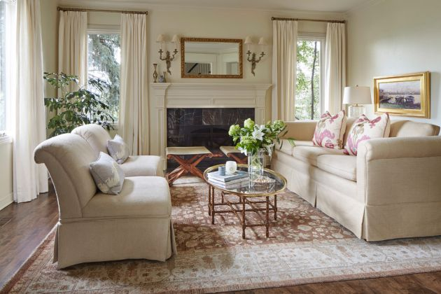 Traditional Living Room Ideas By Holst Interiors, LLC