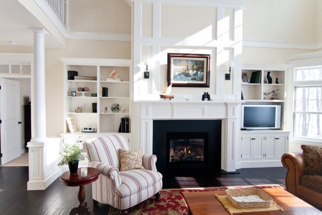 Traditional Living Room Ideas By Traditional Cabinetry LLC