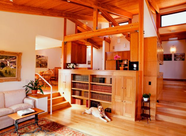 Traditional Orange Living Room Design Ideas By Mark Pearcy ARCHITECTURE