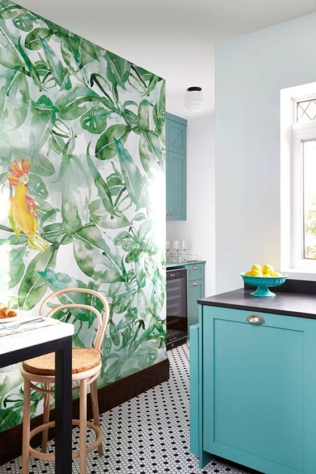 Tropical Kitchen Decorating Ideas