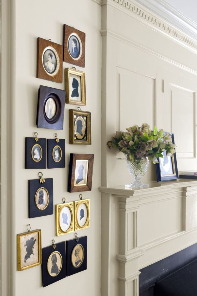 Wall Decorating Ideas By Mixing Eclectic Frames
