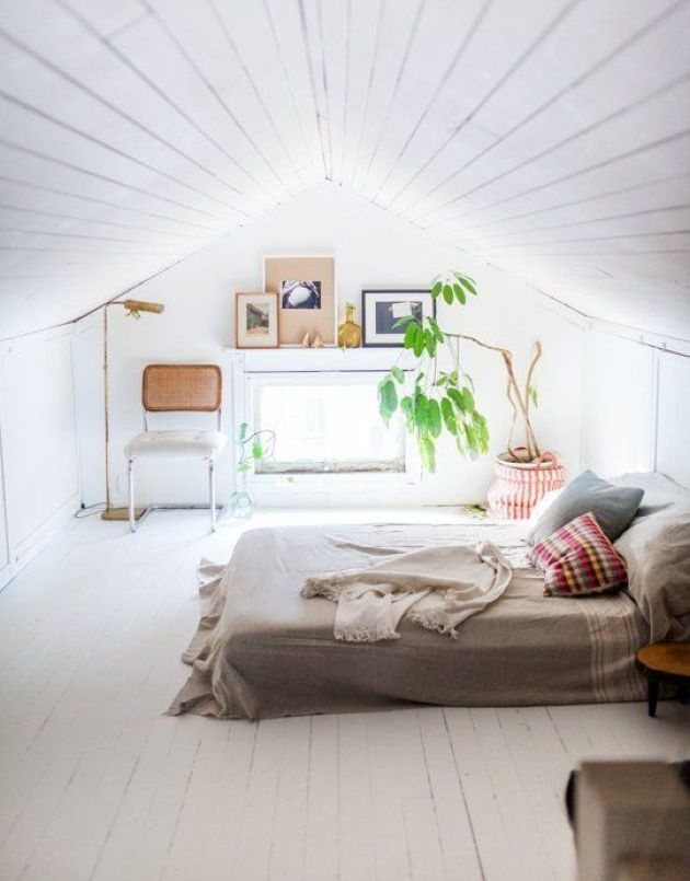 Attic Bedroom Decoration Ideas